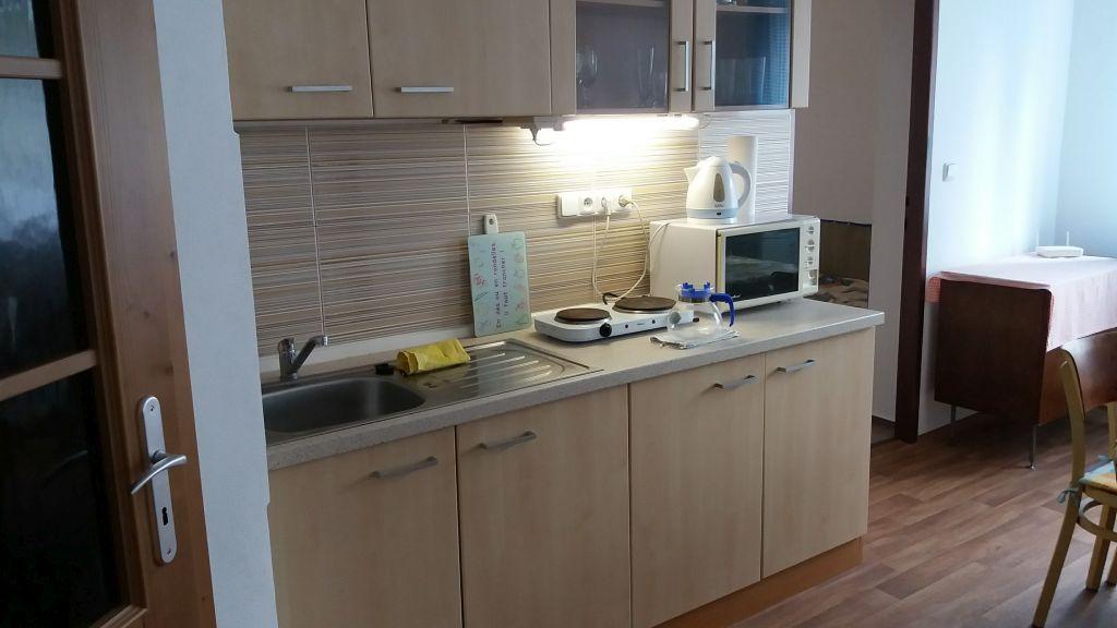 Velký apartmán, kuchyně